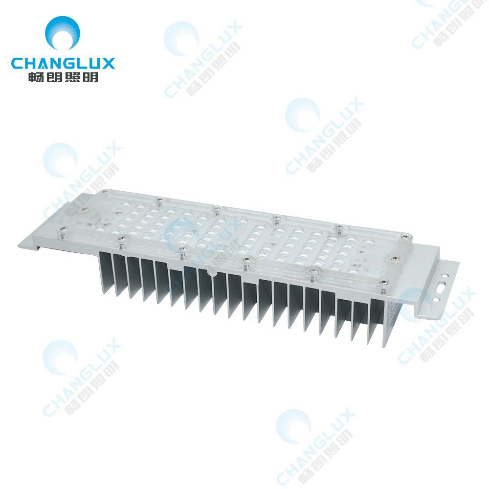 CL-B50-M15085 TYPEII低起订量高流明铝合金ip66 40W 50W 60W户外Smd3030透镜LED模块