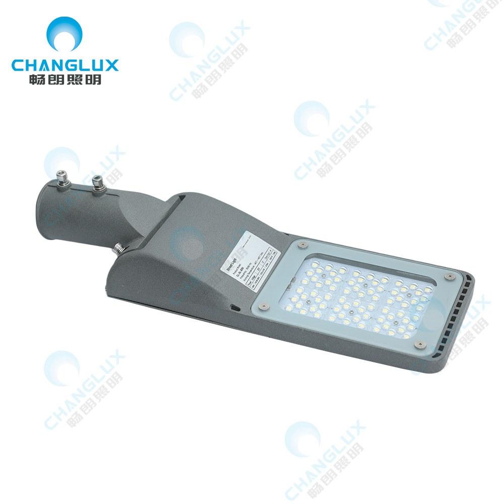 CL-SL-E30 30-60WCE RoHS认证的IP65SMD铝制户外路灯30W 40W 50W 60W运动传感器LED路灯